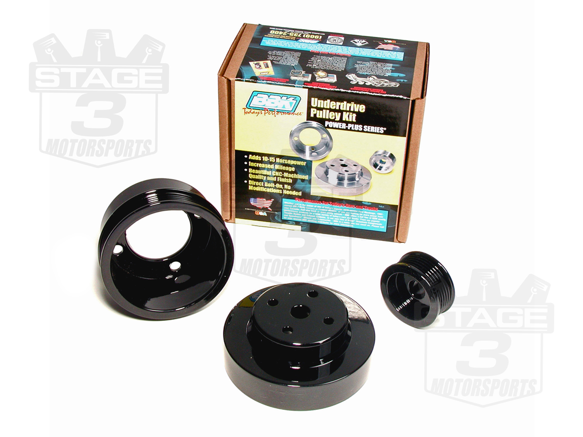 BBK Black Fox Body Underdrive Pulleys