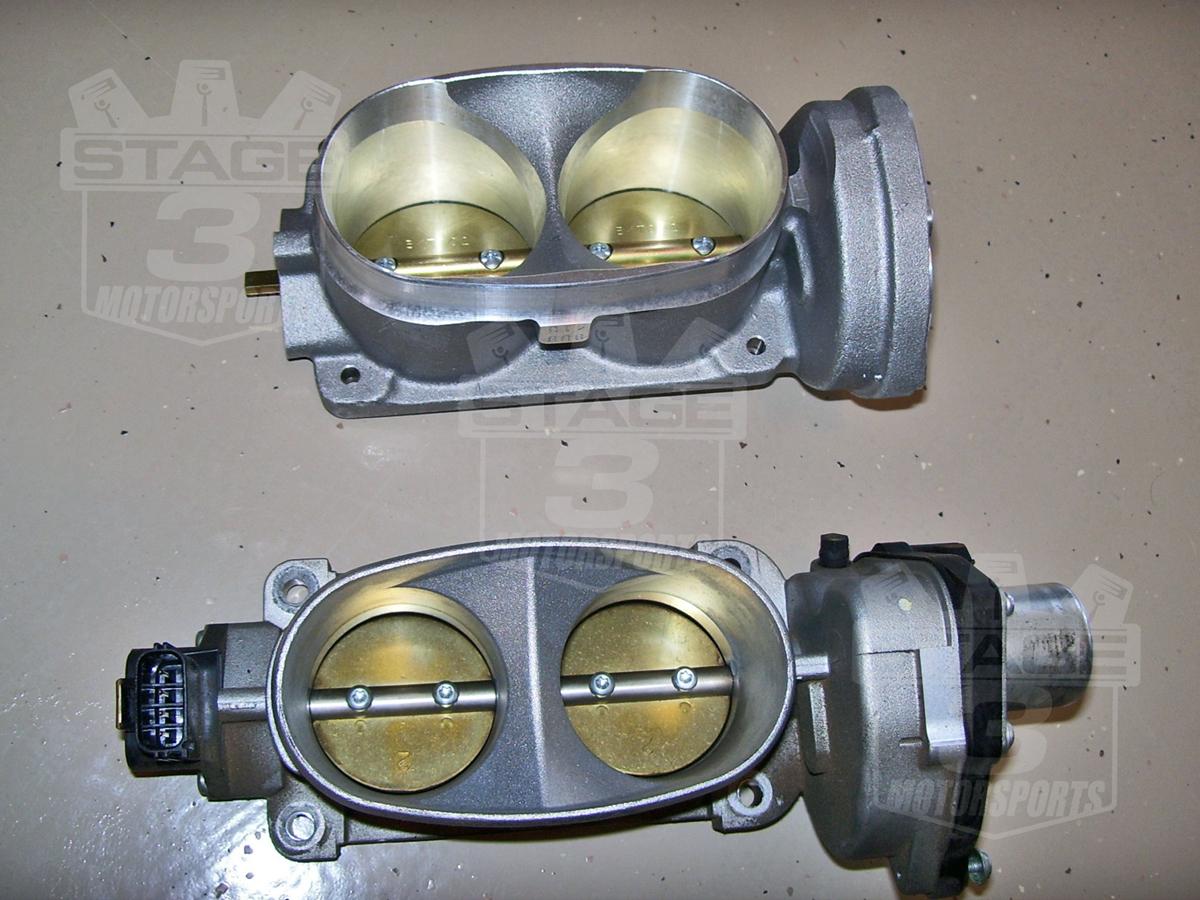 2005 2010 Mustang Gt 4 6l Bbk Twin 62mm Throttle Body 1763