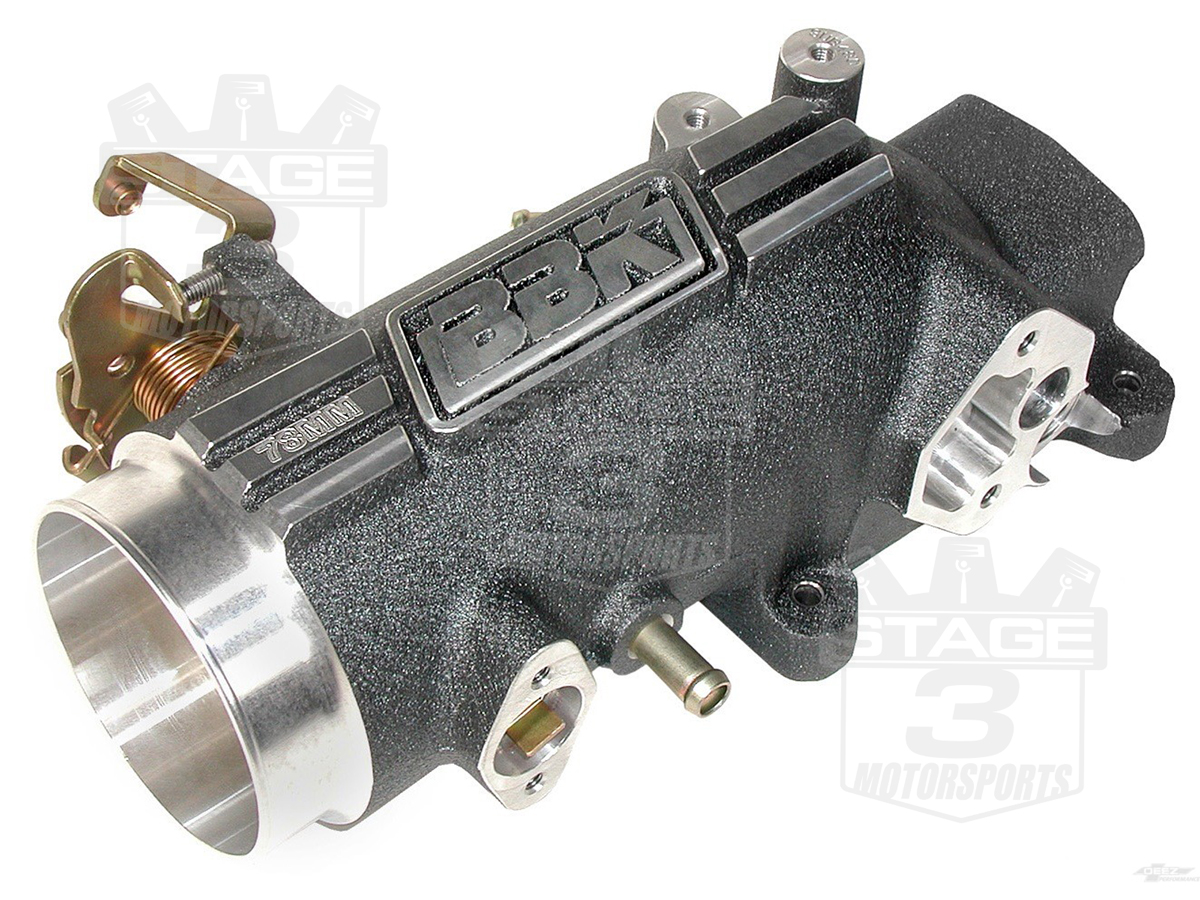 1996-2004 Mustang GT 4.6L BBK 78mm Throttle Body / Plenum Kit