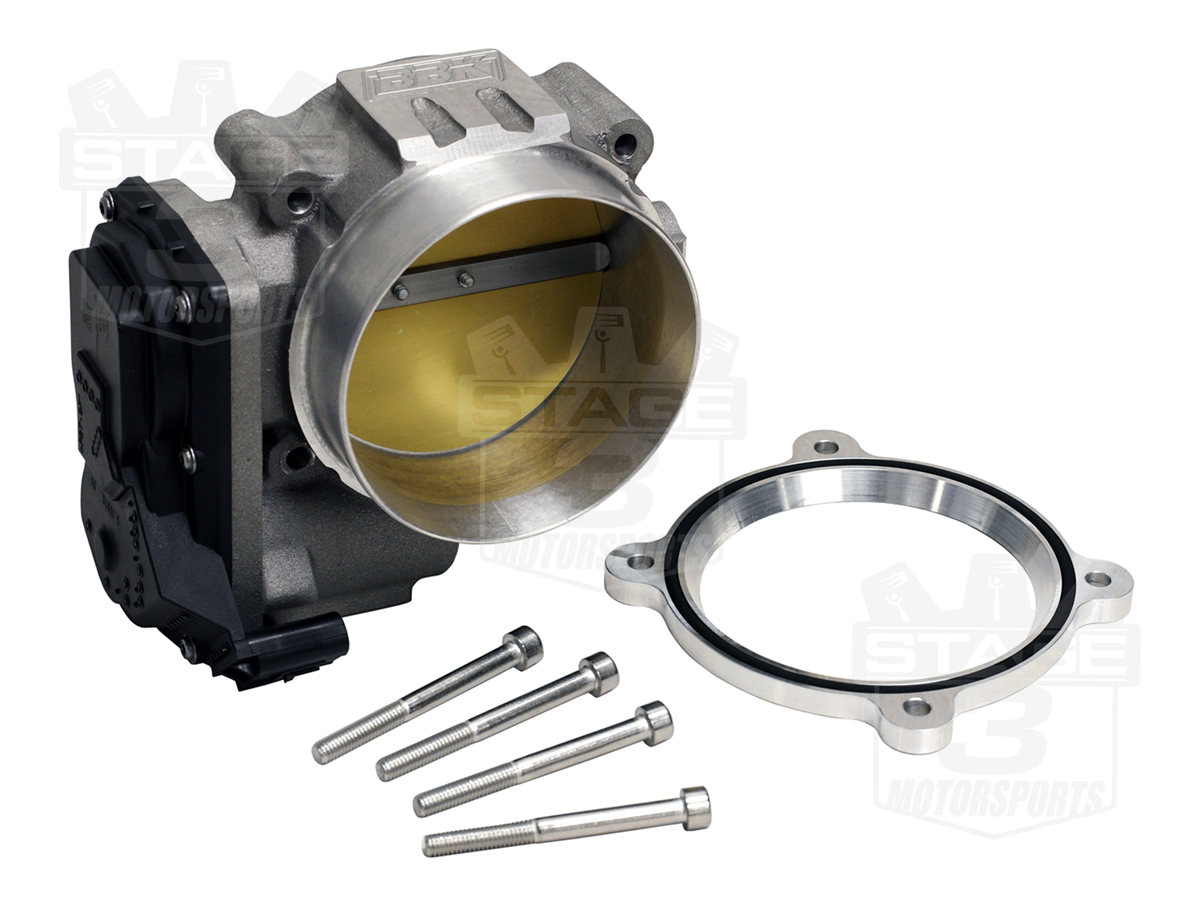 2011-2014 Mustang GT / Boss 302 BBK 90mm Power Plus Throttle Body