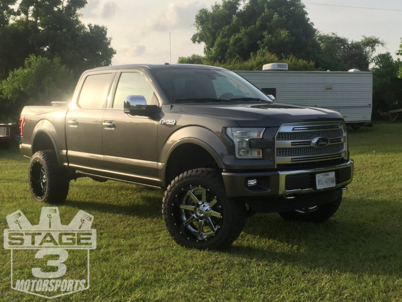 2015 f150 5 0l platinum with a 2015 2016 f150 bds 6 inch coilover