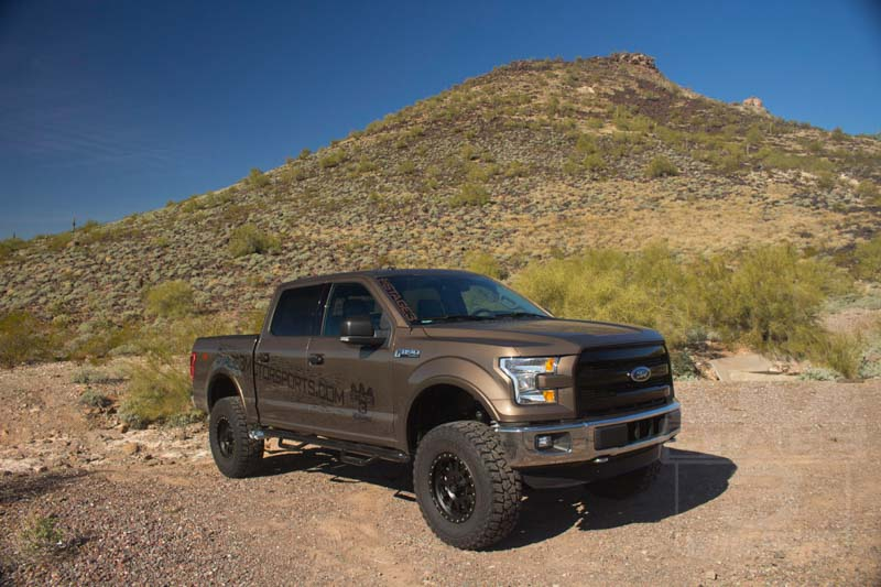"""3 Inch Lift Kit For Ford F150 >> 2015-2017 F150 RWD BDS 4"""" Fox Coilover Suspension Lift Kit 1523F"""