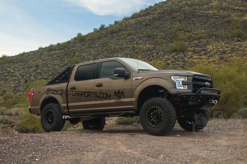 "2015-2016 F150 4WD BDS 4"" Fox Coilover Suspension Lift Kit ..."