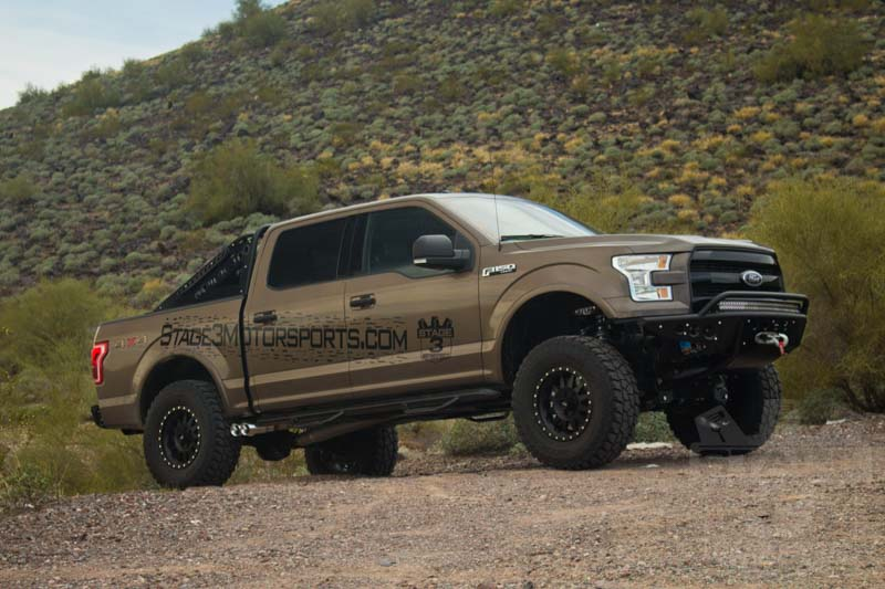 "F150 Platinum With Leveling Kit >> 2015-2017 F150 RWD BDS 4"" Fox Coilover Suspension Lift Kit 1523F"