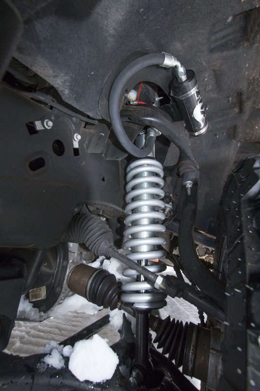 2009-2013 F150 BDS Fox 2.5 Remote Reservoir Coilovers for ...