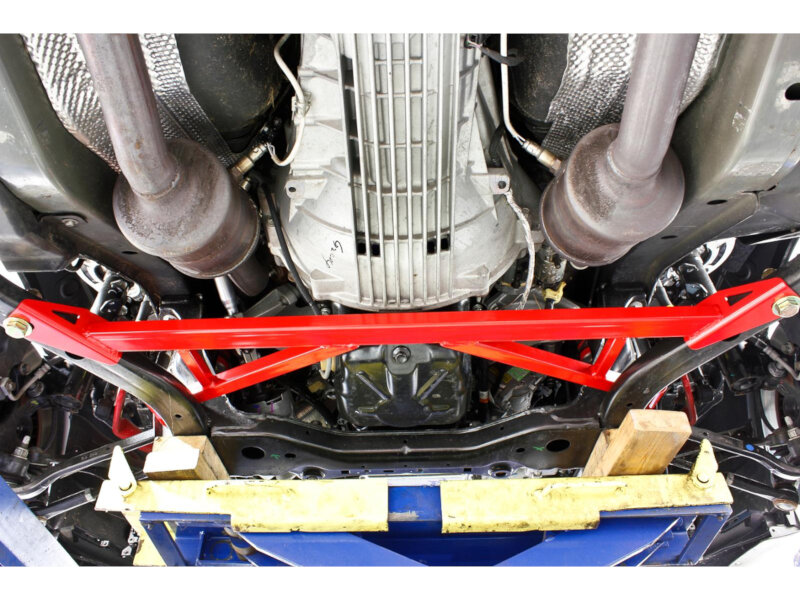 How Much Is A Front End Alignment >> 2015-2017 Mustang BMR Front Subframe Chassis Brace CB006