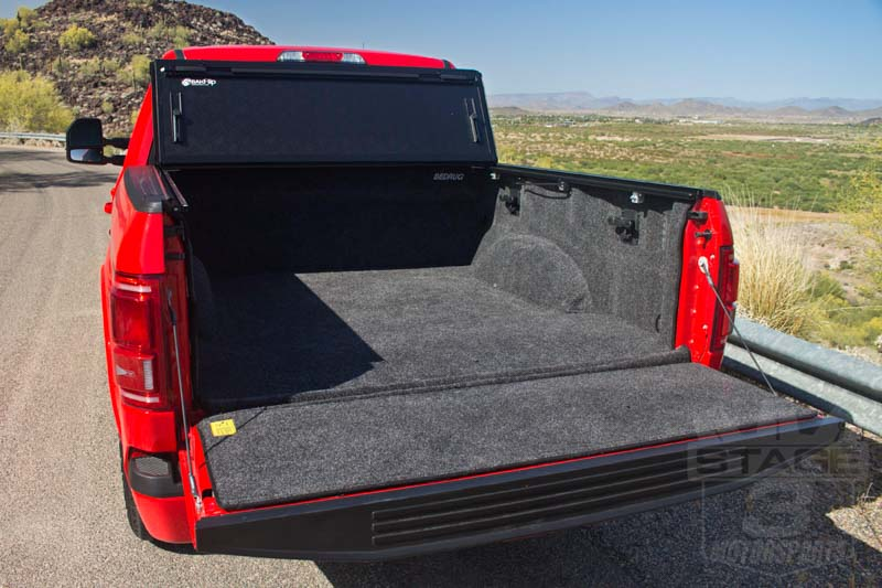 2015 F150 Bedrug Complete Bed Liner Kit Installed In Our