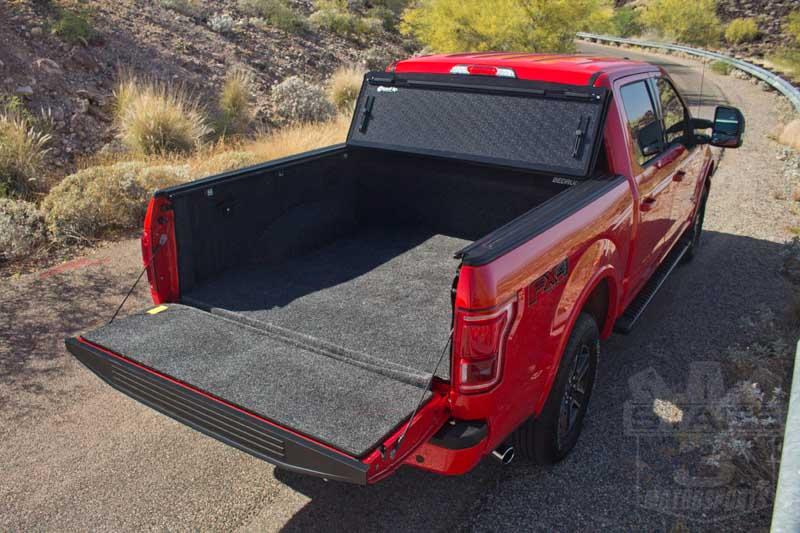 2015 F150 Bedrug Complete Bed Liner Kit Installed In Our