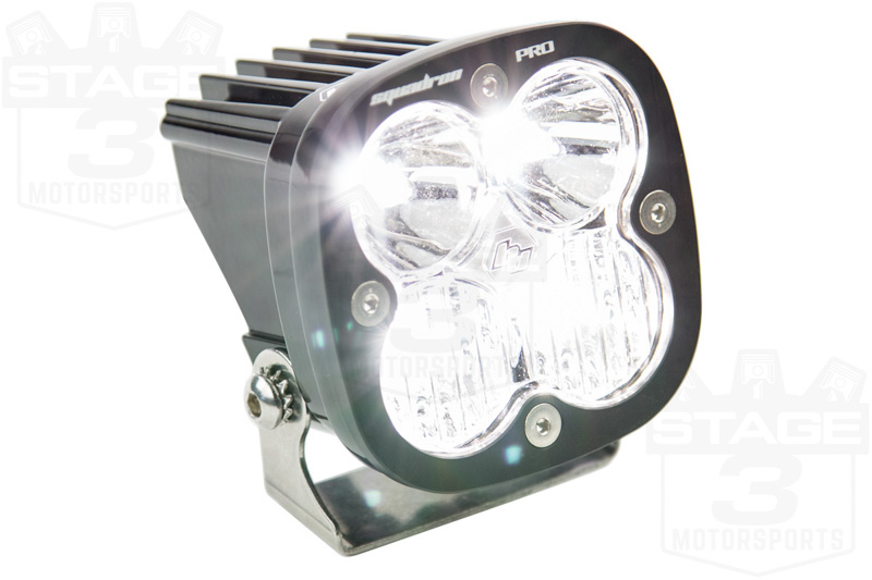 raptor baja designs sportsmen fog light bucket  road lighting package