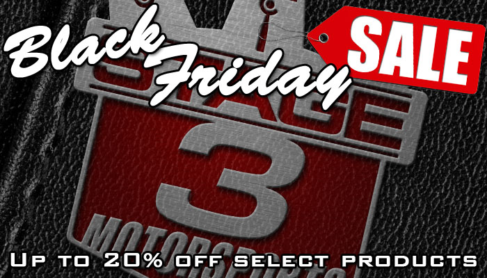 Stage 3's Black Friday & Cyber Monday Deals and Discounts!