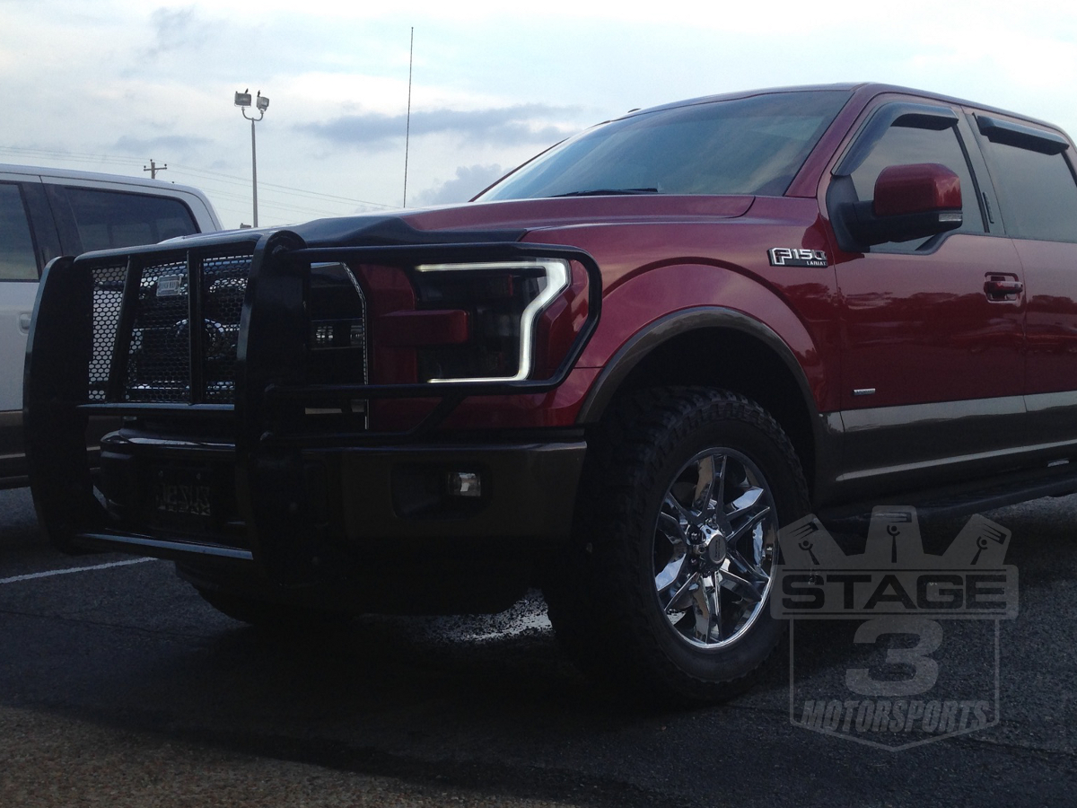 2015 F150 With Raptor Retrofit 2015 F150 Led Headlights