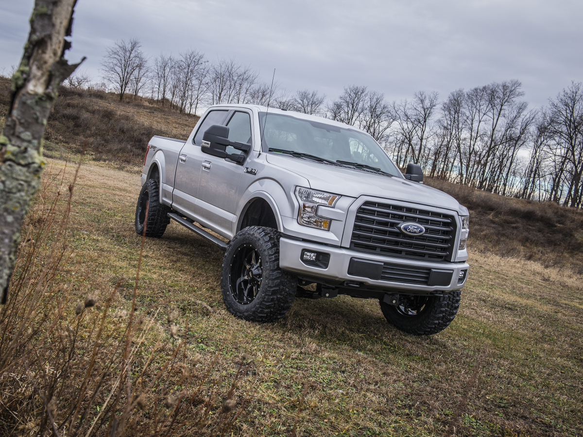 2016 f150 with a bds 2015 2016 f150 6 inch suspension lift kit