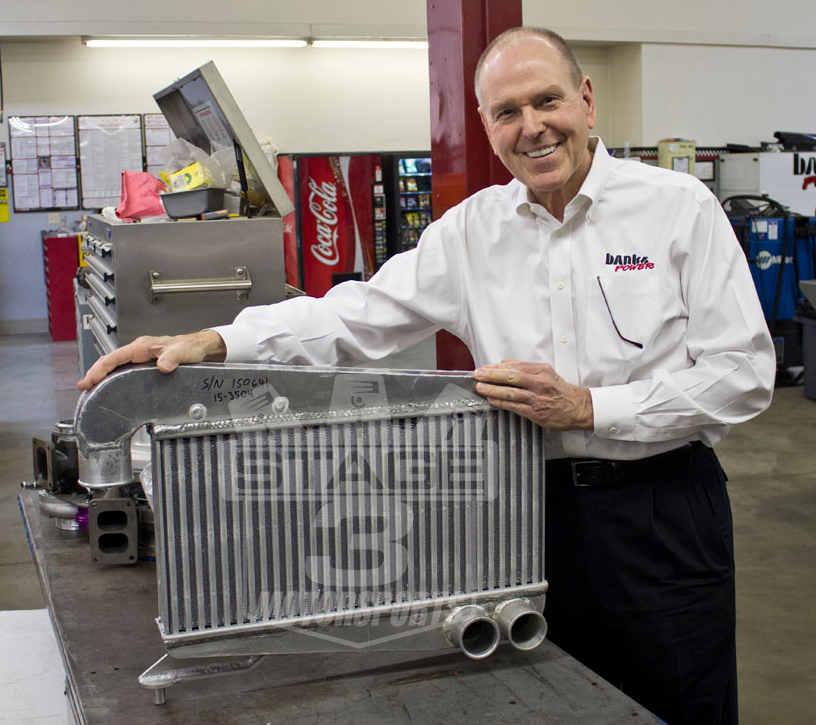 Banks Power F150 EcoBoost Intercooler Prototype
