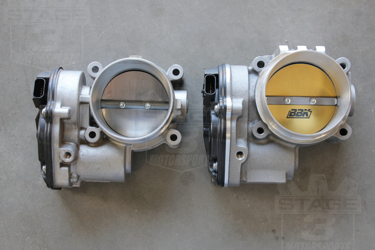 and potentially other upgrades 2011 2014 f150 ecoboost bbk 73mm throttle body 2011 2014 f150 ecoboost bbk throttle body vs