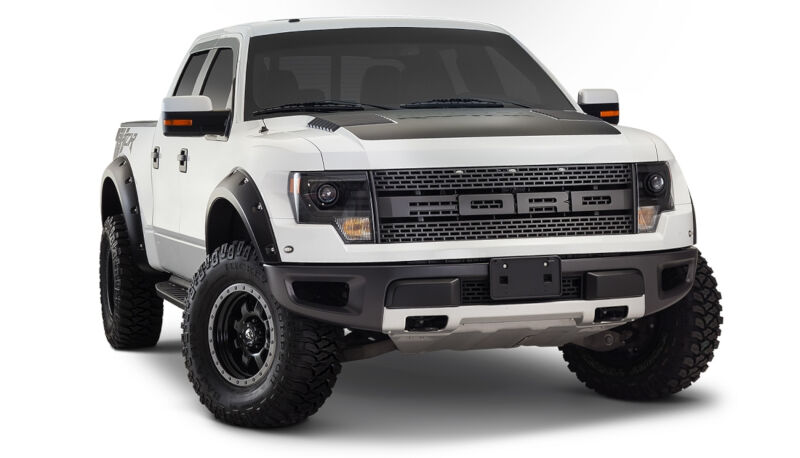 2010 2014 f150 raptor svt bushwacker pocket style front. Black Bedroom Furniture Sets. Home Design Ideas