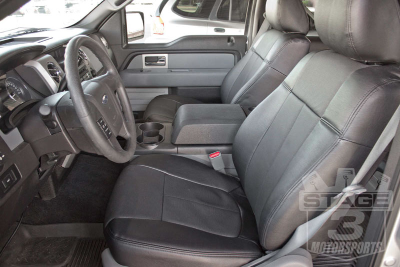2009 2014 F150 Clazzio Leather Seat Covers 7201