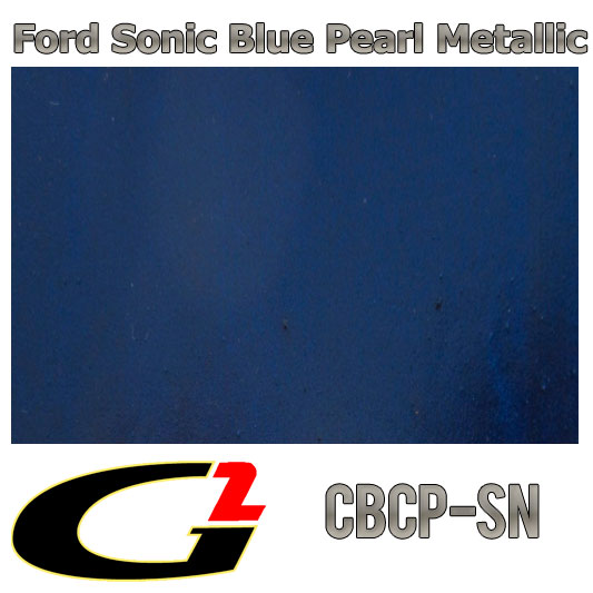 Ford sonic blue paint code