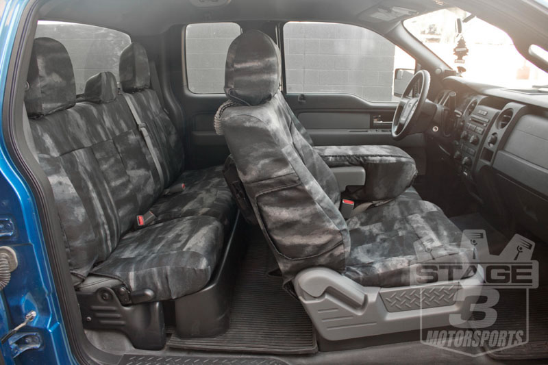 2013 2014 f150 coverking ballistic a tacs law enforcement camo rear seat covers ctscatc03