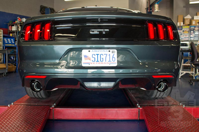2015 Mustang GT Corsa Axle-Back Exhaust Kit