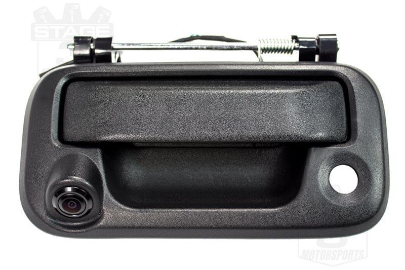 2009 2014 f150 tailgate handle color back up camera black