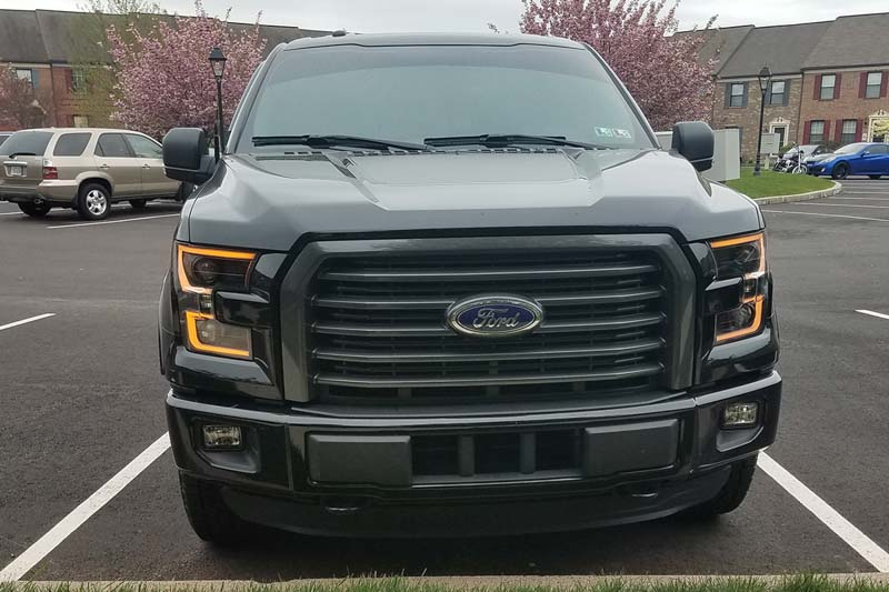 2015 2017 f150 anzo led outline projector headlights autos post. Black Bedroom Furniture Sets. Home Design Ideas
