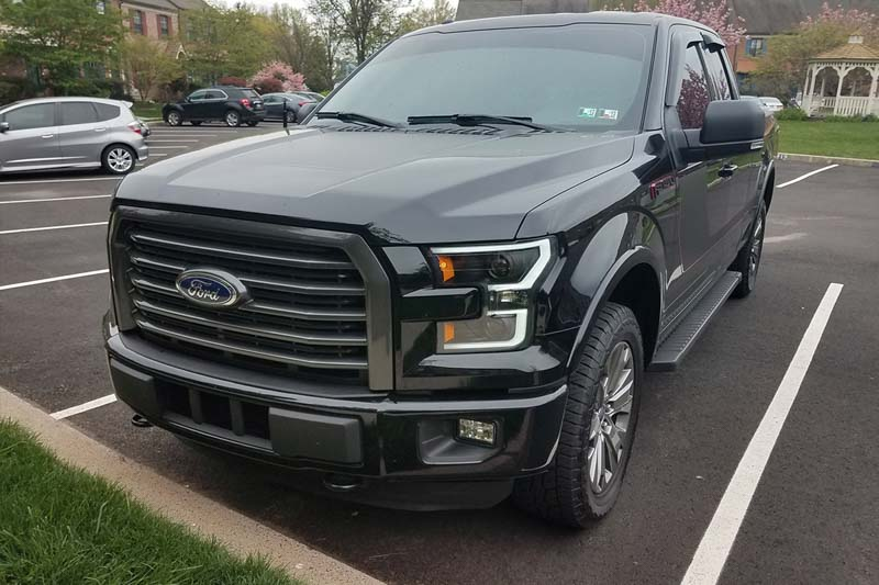 2018 F150 Review >> 2015-2017 F150 ANZO LED Outline Projector Headlights ...