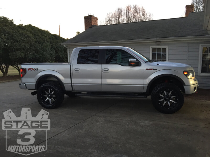 2013 F150 Ecoboost With Machined Fuel Maverick Wheels And