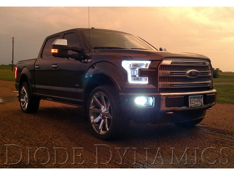 2015 2017 F150 Diode Dynamics Headlight Drl Switchback Led