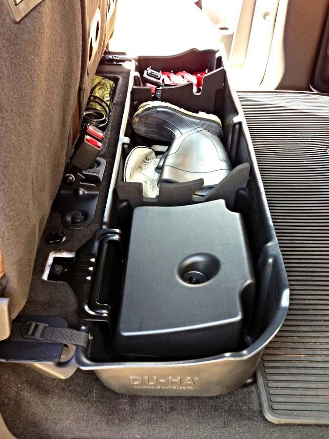 2009 2014 F150 Supercrew Du Ha Underseat Storage Unit Subwoofer 20078