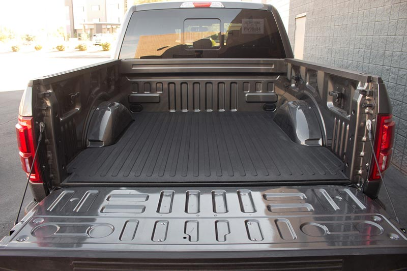 2015-2016 F150 DeeZee Heavyweight Bed Mat Installed in a 2015 F150 2.7L EcoBoost with 5.5ft Bed