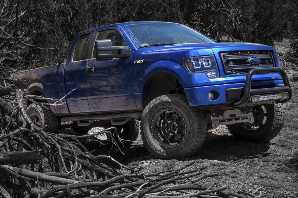 Stage 3's 2013 F150 STX 5.0L Project Truck