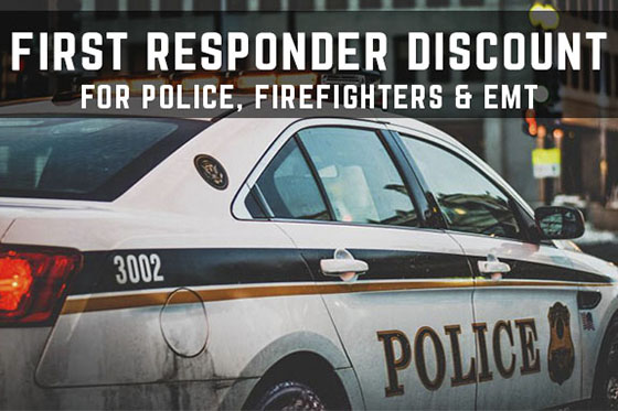 Stage 3's LEO & First Responder Discount!