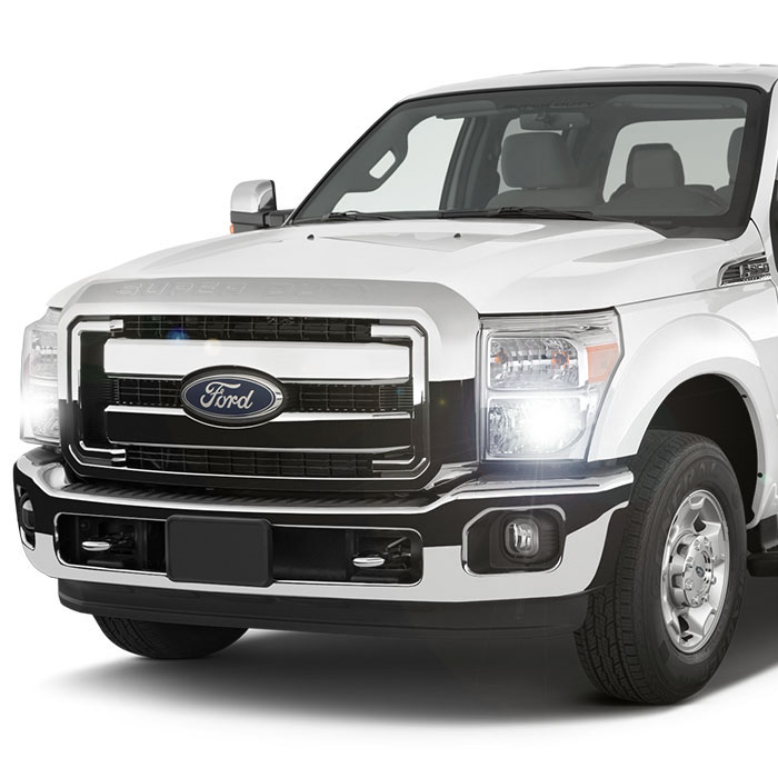 Diode Dynamics Ford F Headlight Hid Conversion Kit on Ford F250 Light Bulbs