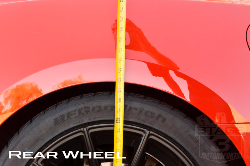2015 Mustang EcoBoost Eibach Pro-Kit Rear Ride Height