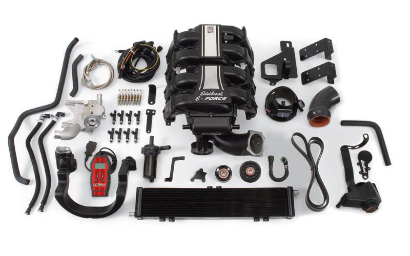 Edelbrock Eforce Supercharger Kit E on Ford 5 4l Engine Diagram