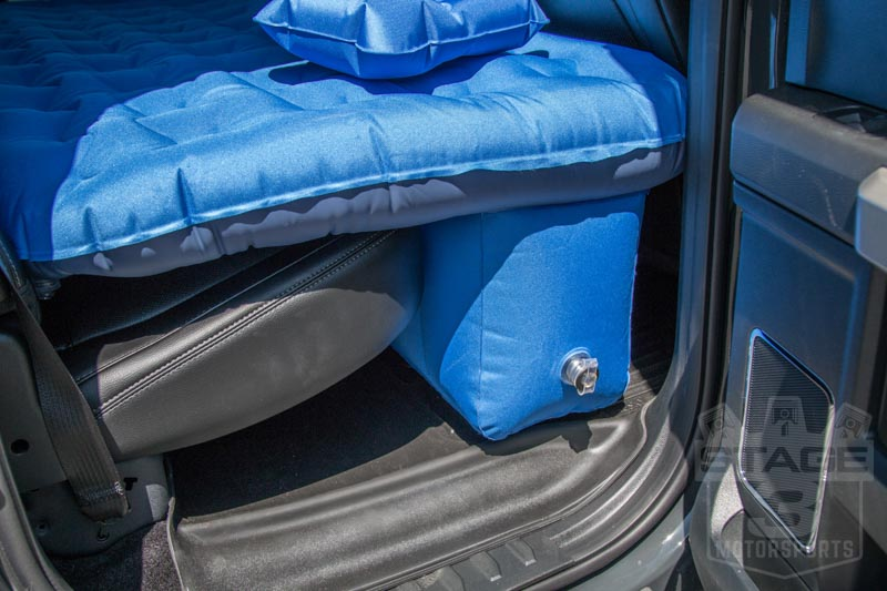 f150 super duty supercrew pittman airbedz backseat air mattress ppi trkmat. Black Bedroom Furniture Sets. Home Design Ideas