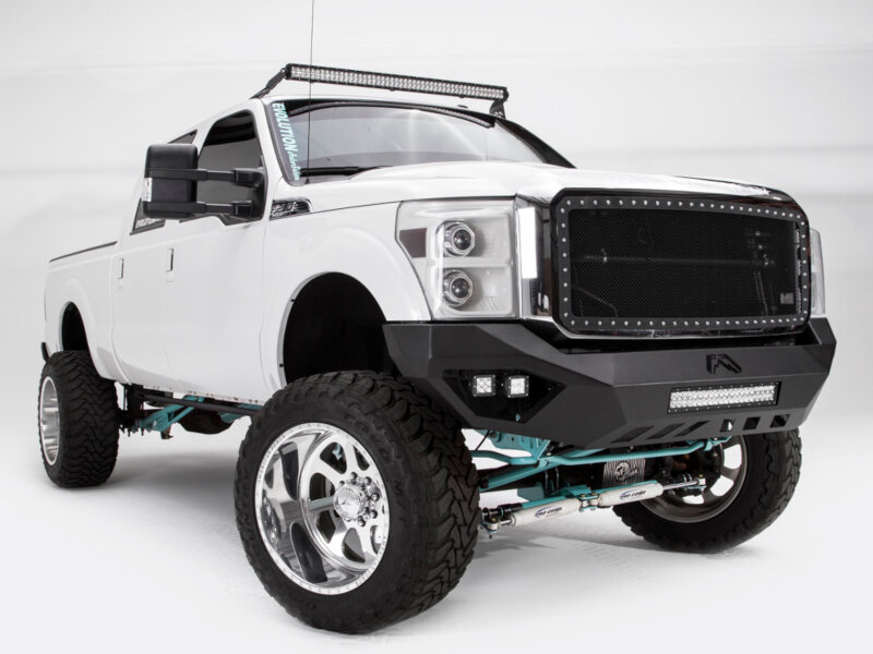 Dually Front Bumpers : F fab fours vengeance series front