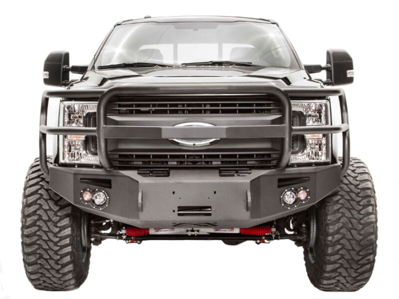 fab fours front bumper replacement full grille guard  html