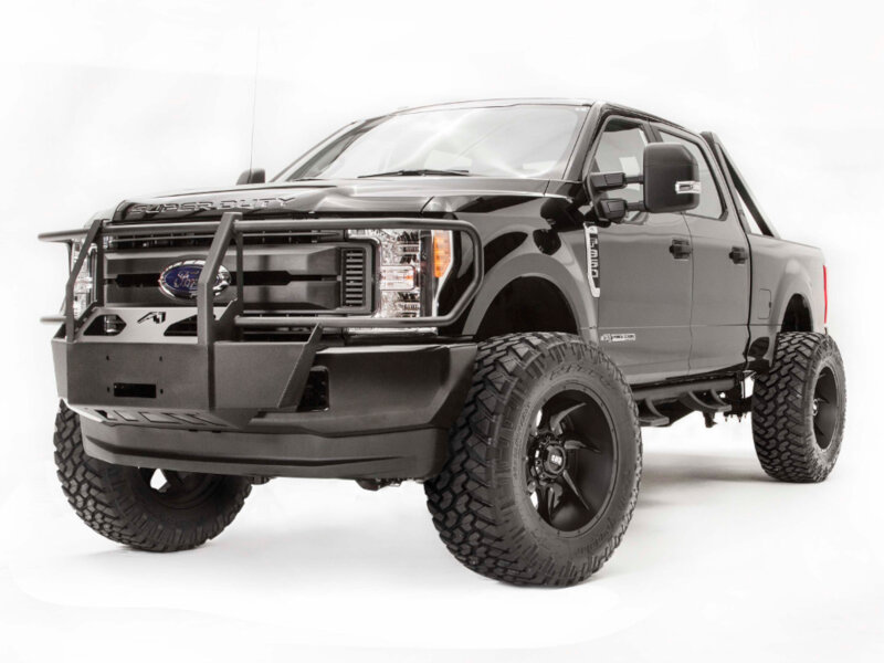 2017 2018 f250 f350 fab fours full guard winch mount. Black Bedroom Furniture Sets. Home Design Ideas