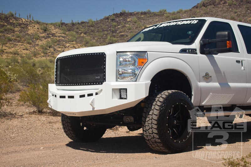 fusion bumper f250 fusion off road front amp rear bumpers installed on our 2014