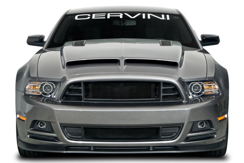 2013 2014 Mustang Cervini S 3 Piece Gt500 Body Conversion
