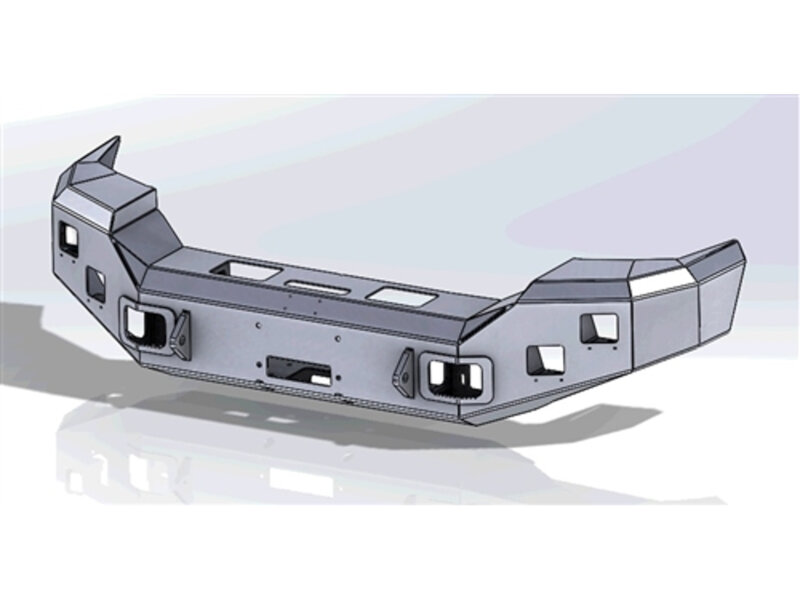 1999 2016 F250 Amp F350 Add Honey Badger Rear Bumper Non