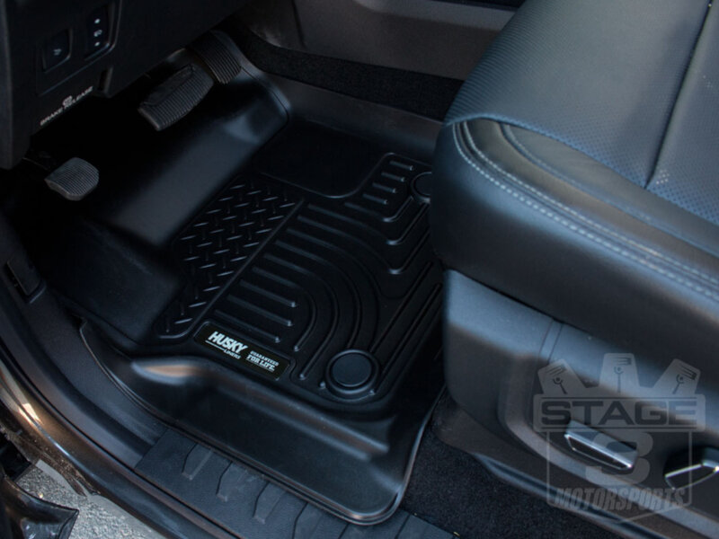 As you can see the front floor mats are designed around the dimensions of your interior floor this allows for precise fitment and a clean oe look