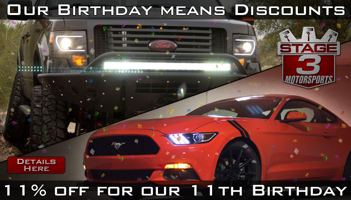 Stage 3's 11th Birthday Discount Bash!