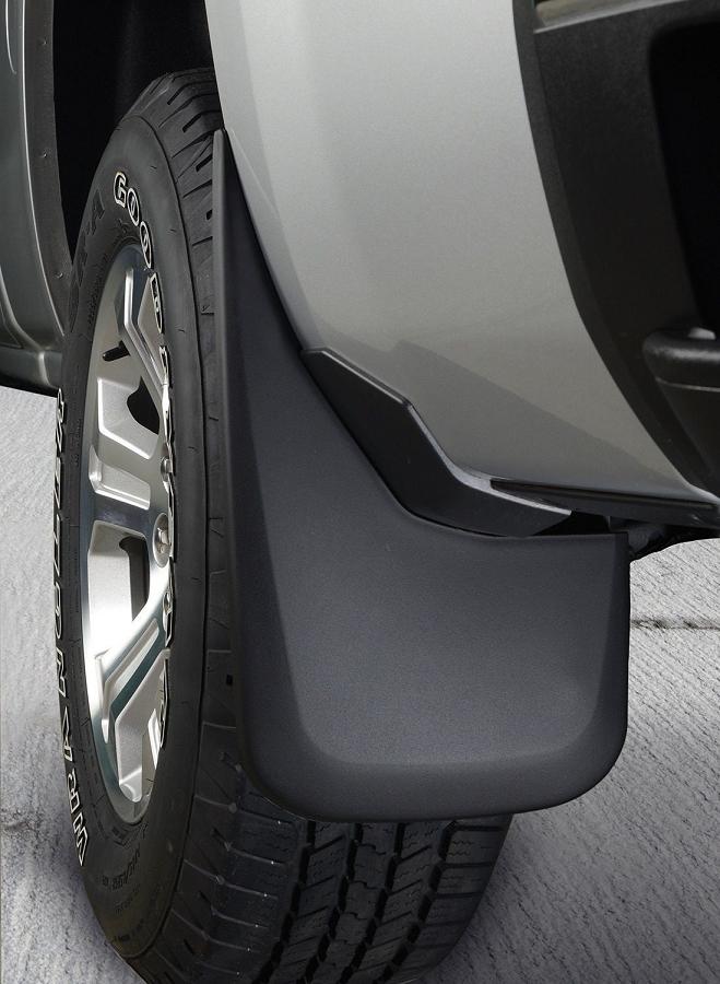 Honda Ridgeline Off Road >> 2004-2010 F250 Super Duty Husky Rear Mud Guards (Fits w ...