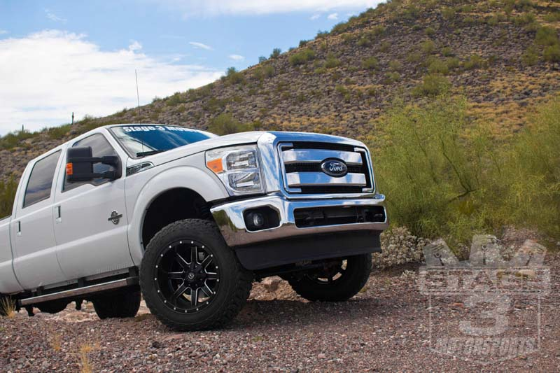 2014 f250 67l stage 3 project truck icon lift kit