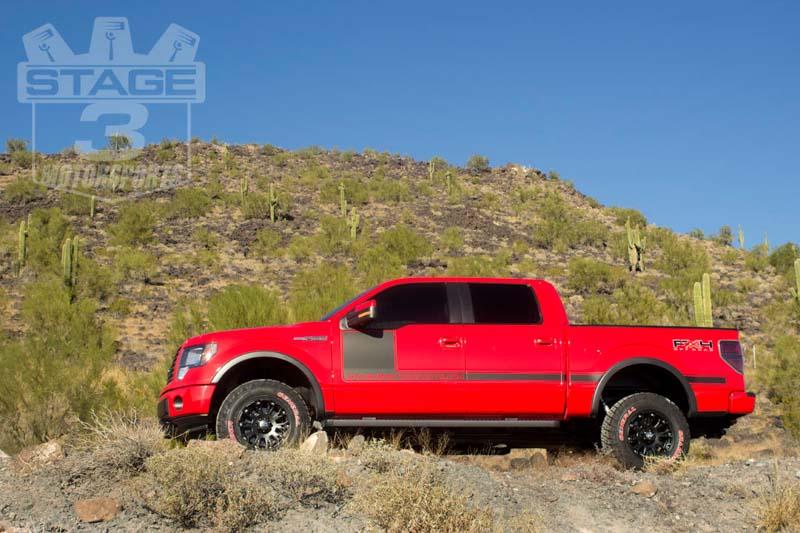 "2014 F150 Leveling Kit >> 2004-2018 F150 4WD Ready Lift 3"" Rear Block Kit 66-2053"