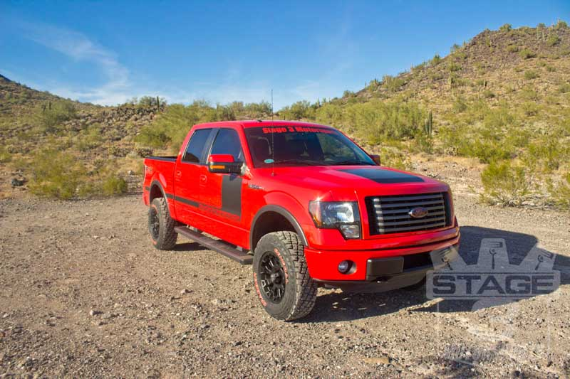 2012 F150 FX4 with ICON Stage 2 Suspension Package