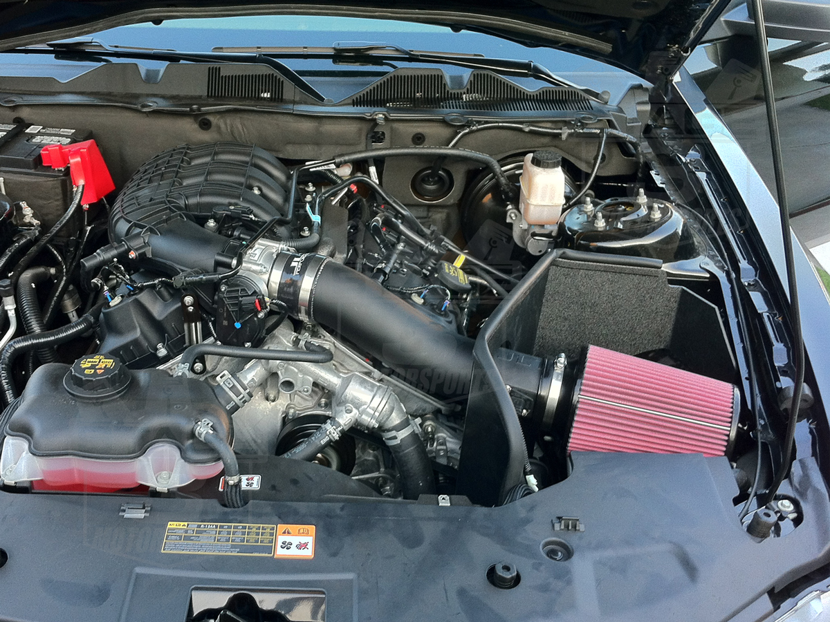 2011 2014 Mustang 3 7l V6 Jlt Textured Plastic Cold Air