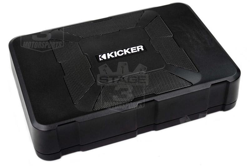 Kicker 11HSHideaway compact powered subwoofer: 1watts